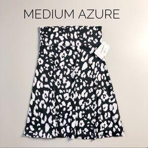 LuLaRoe Azure Skirt (Med) NWT